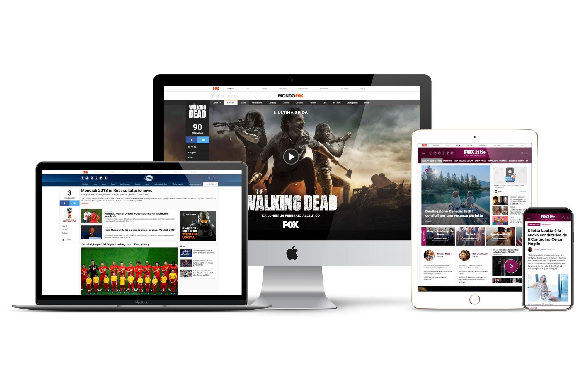 Fox Networks Group Italy sceglie Sky Media come concessionaria web