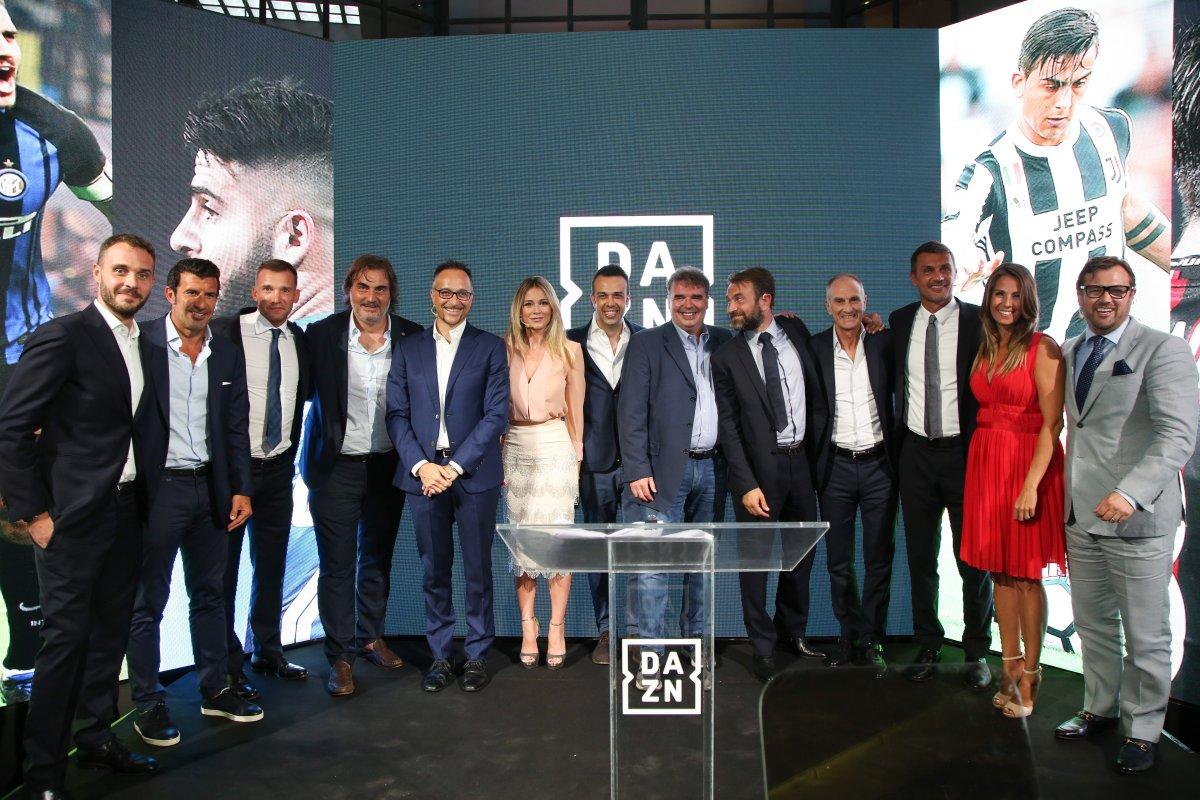 Presentata DAZN, in streaming e ondemand Serie A, Serie B ed altri eventi sportivi