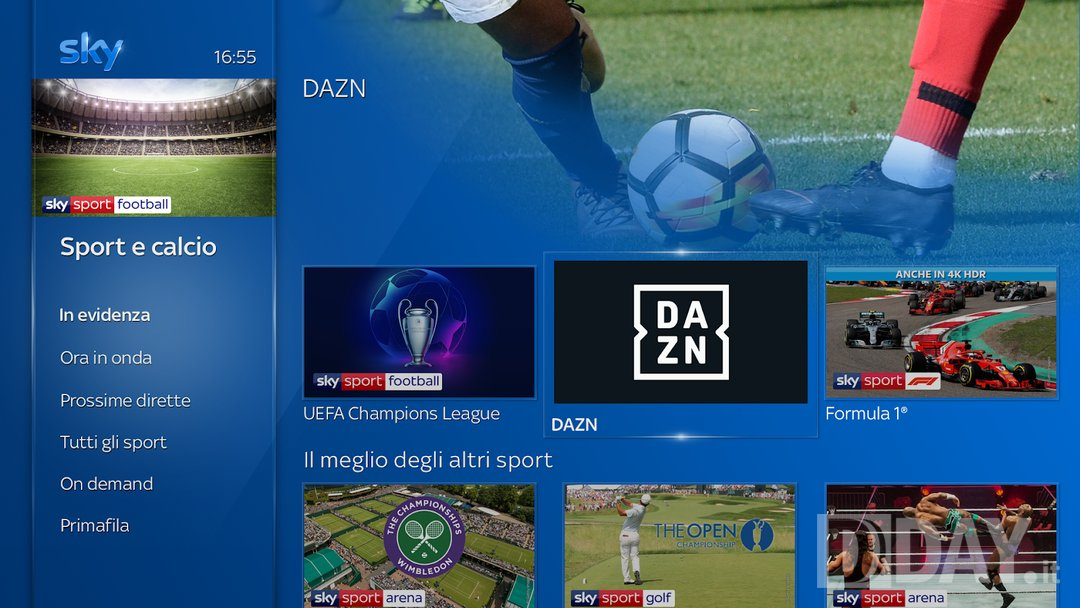 Dal 13 Agosto, i ticket DAZN a prezzi vantaggiosi e condizioni dedicate per i clienti Sky.