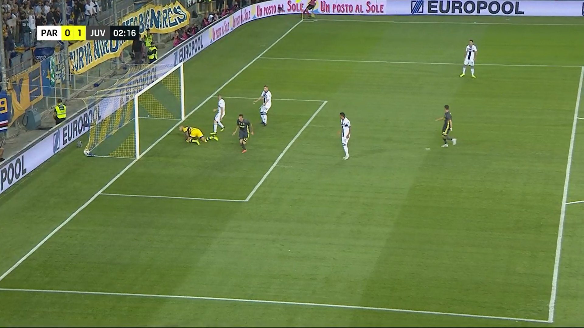 Secondo Nielsen Sport 723.525 spettatori medi per Parma - Juventus su DAZN