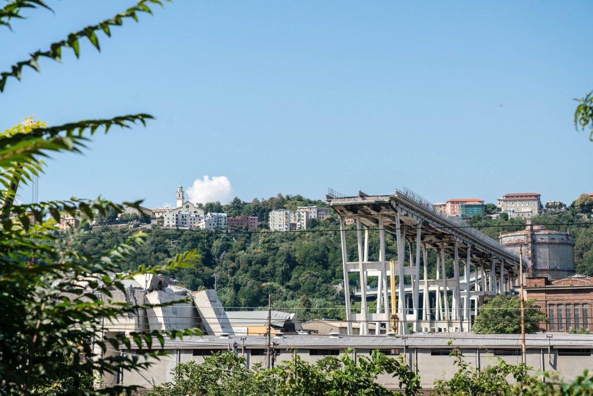 Sky dedica palinsesto a Genova un mese dopo il crollo del ponte Morandi