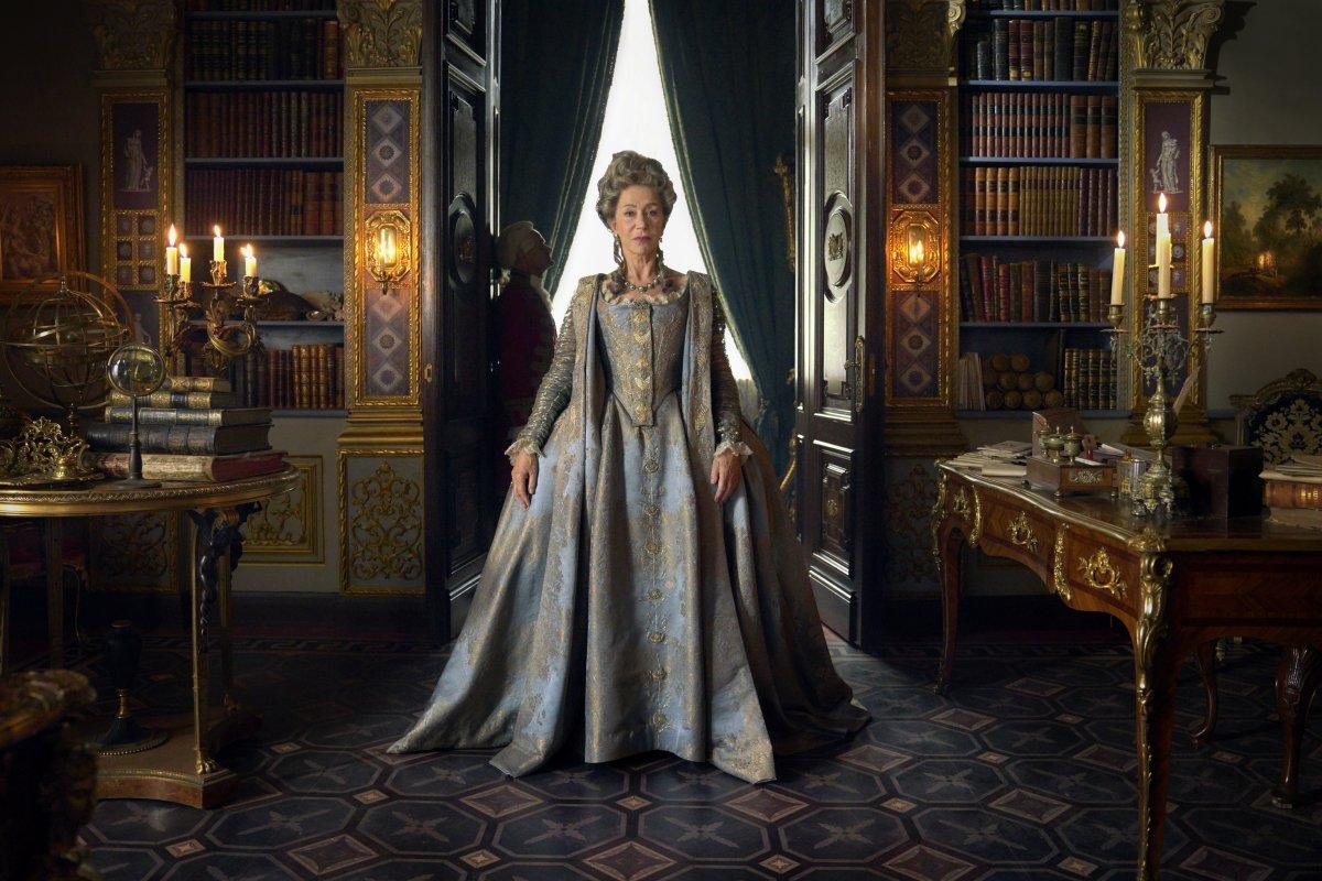 Helen Mirren nella serie Sky e HBO «Catherine the Great»