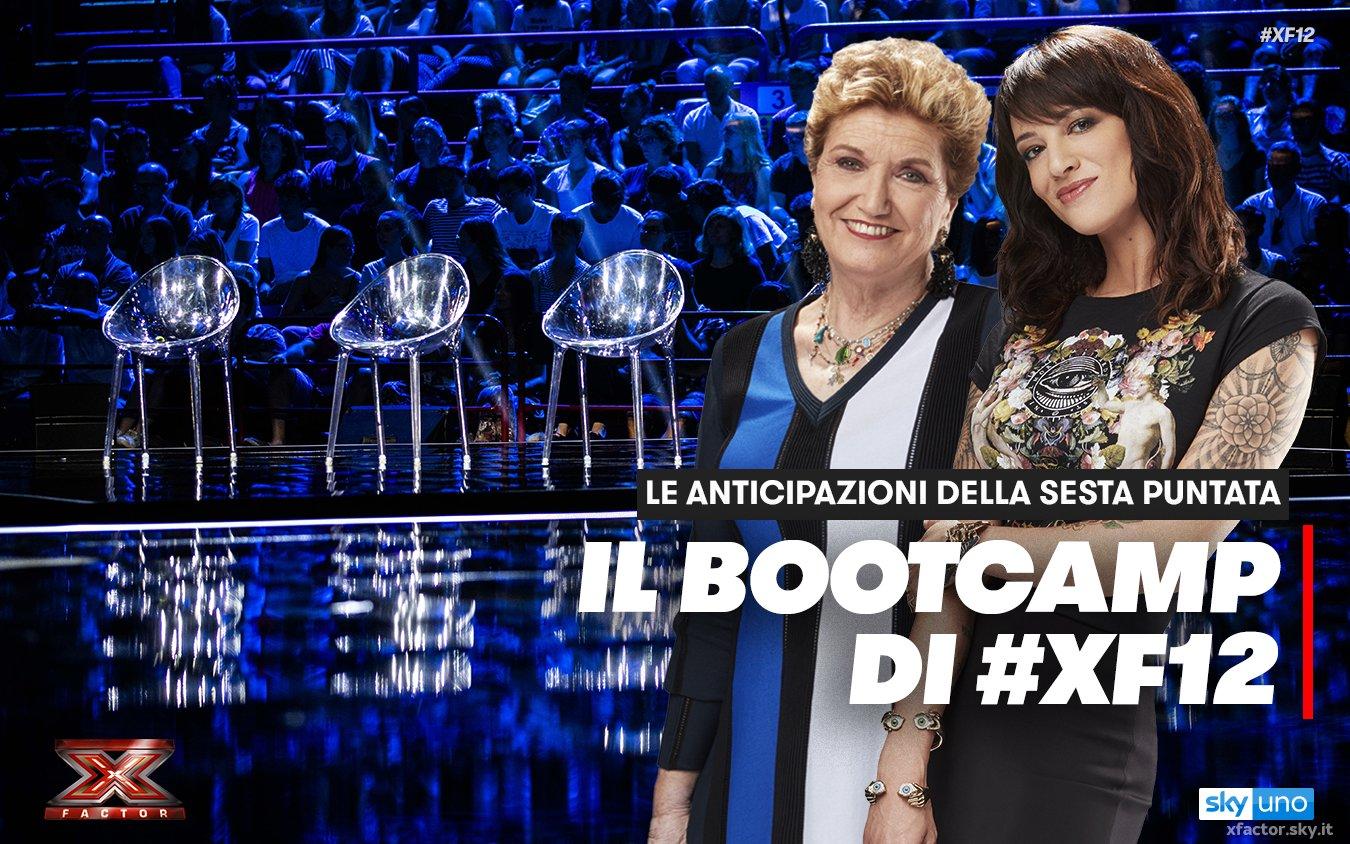 X Factor 2018, su Sky Uno il secondo appuntamento con i Bootcamp