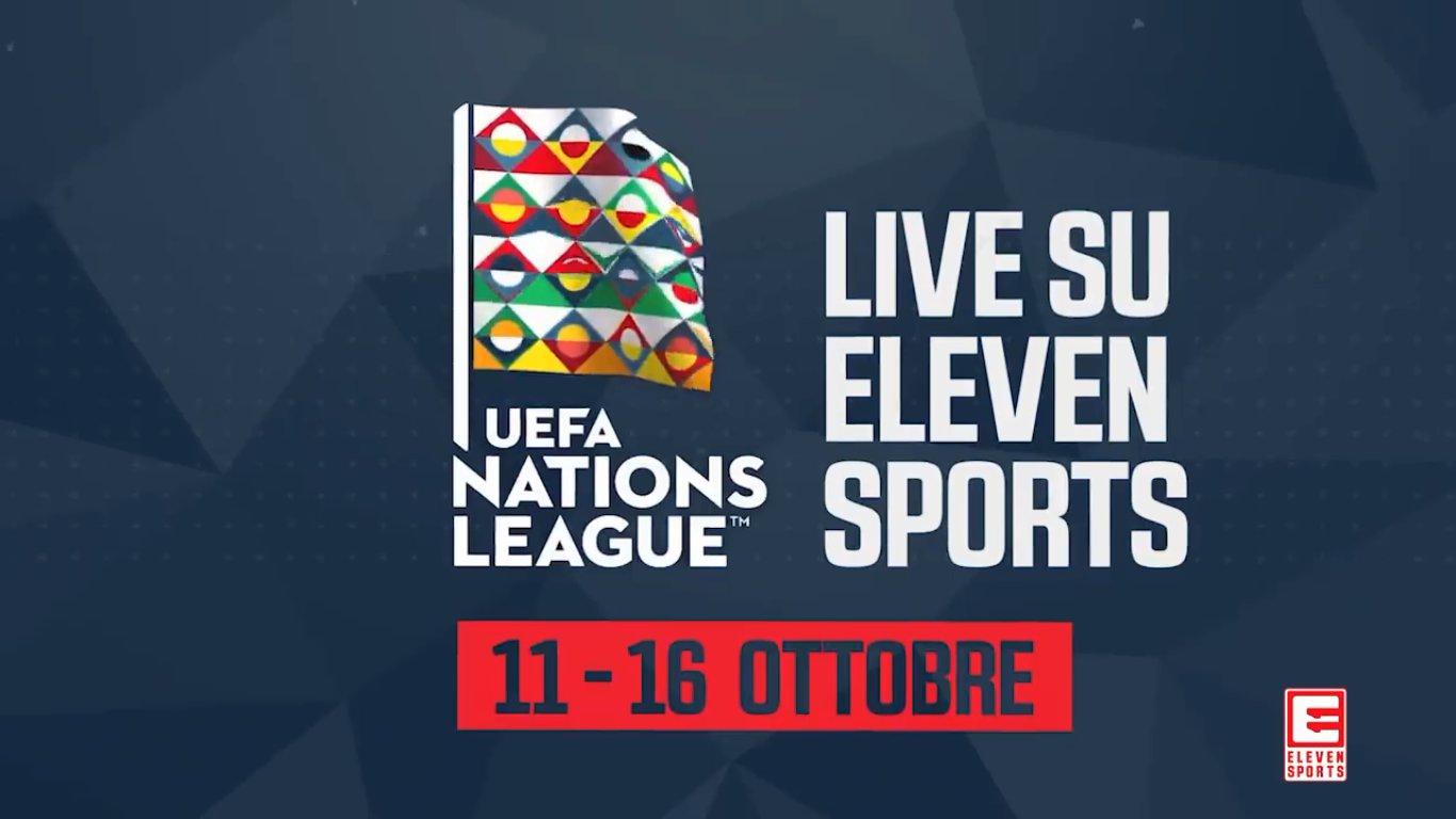 Alcuni match Nations League in diretta streaming gratis su Eleven Sports