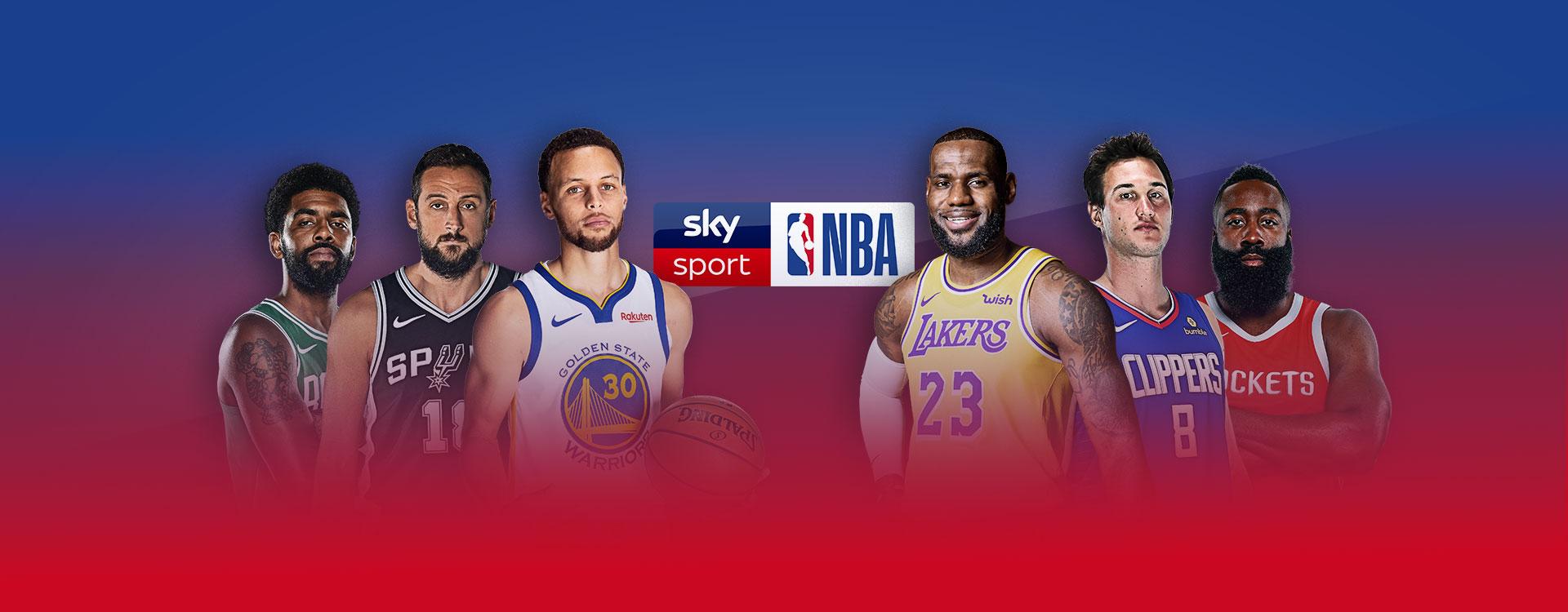 Mai così tanta NBA su Sky Sport, oltre 350 partite live nel canale dedicato