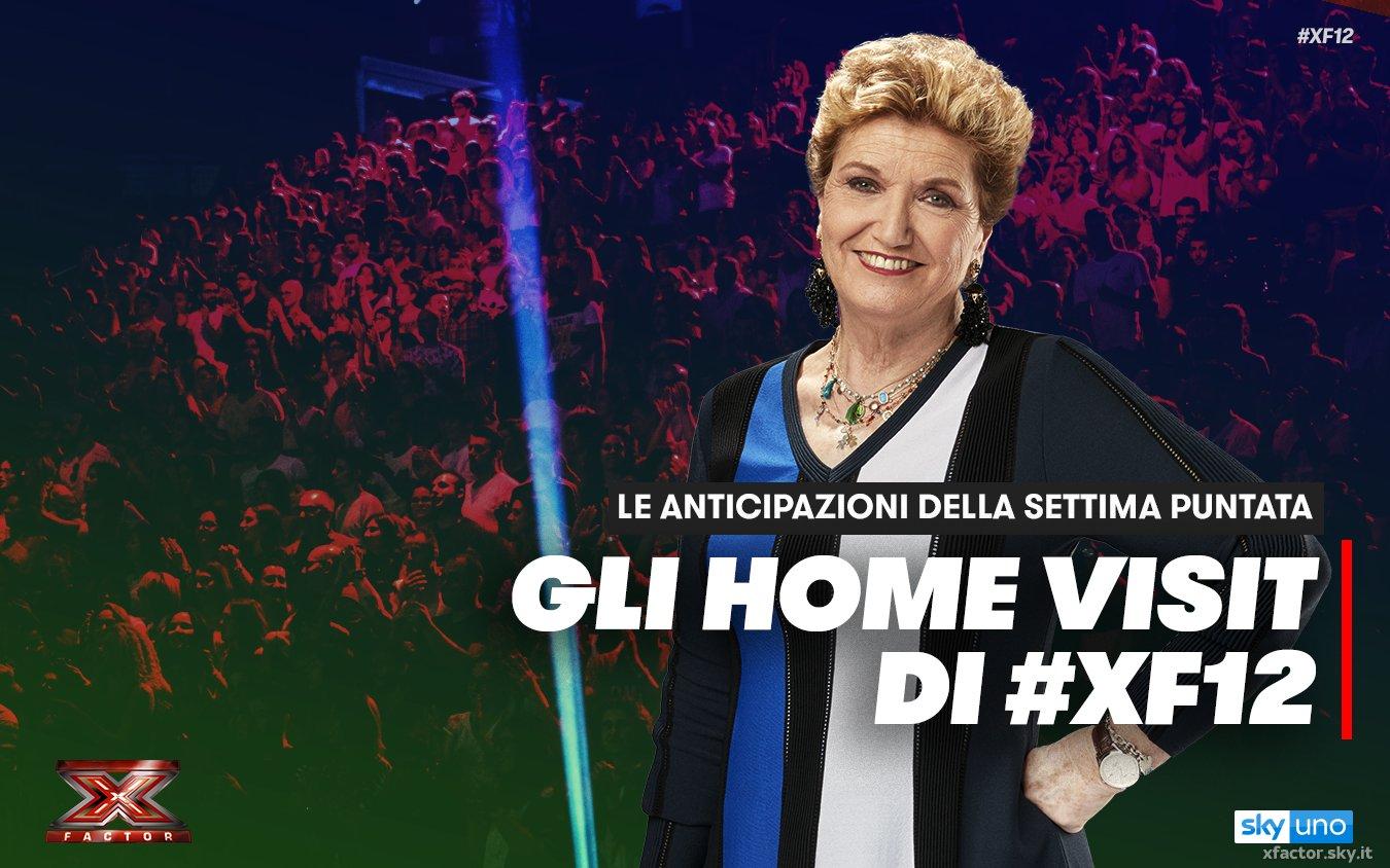 Gli Home Visit con le scelte finali di #XF12 vi aspettano stasera su Sky Uno