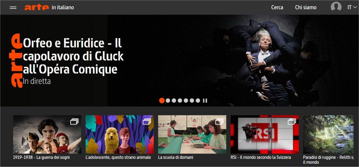 Tivùon! si arricchisce con i contenuti in italiano di Arte canale culturale europeo