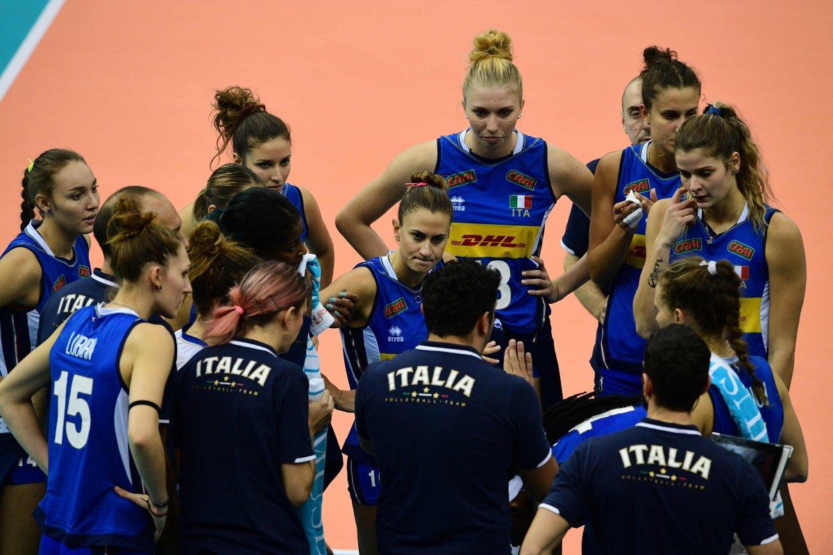 Volley Mondiale Femminile Semifinale: Italia - Cina (diretta Rai 2)