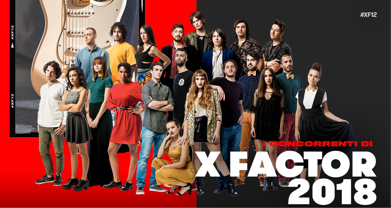 Definita la squadra dei concorrenti di #XF12, da giovedì in diretta su Sky Uno