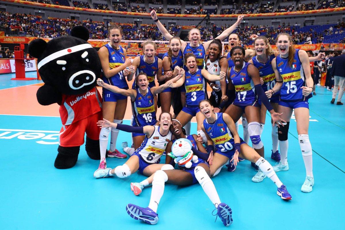 Volley Mondiale Femminile 2018 Finale: ITALIA - Serbia (diretta Rai 2)