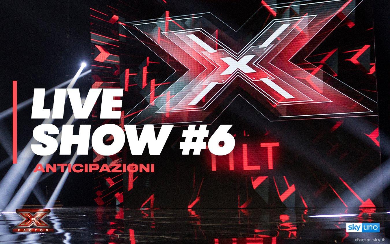 Manche orchestrale ed un medley nel sesto live #XF12 stasera su Sky Uno