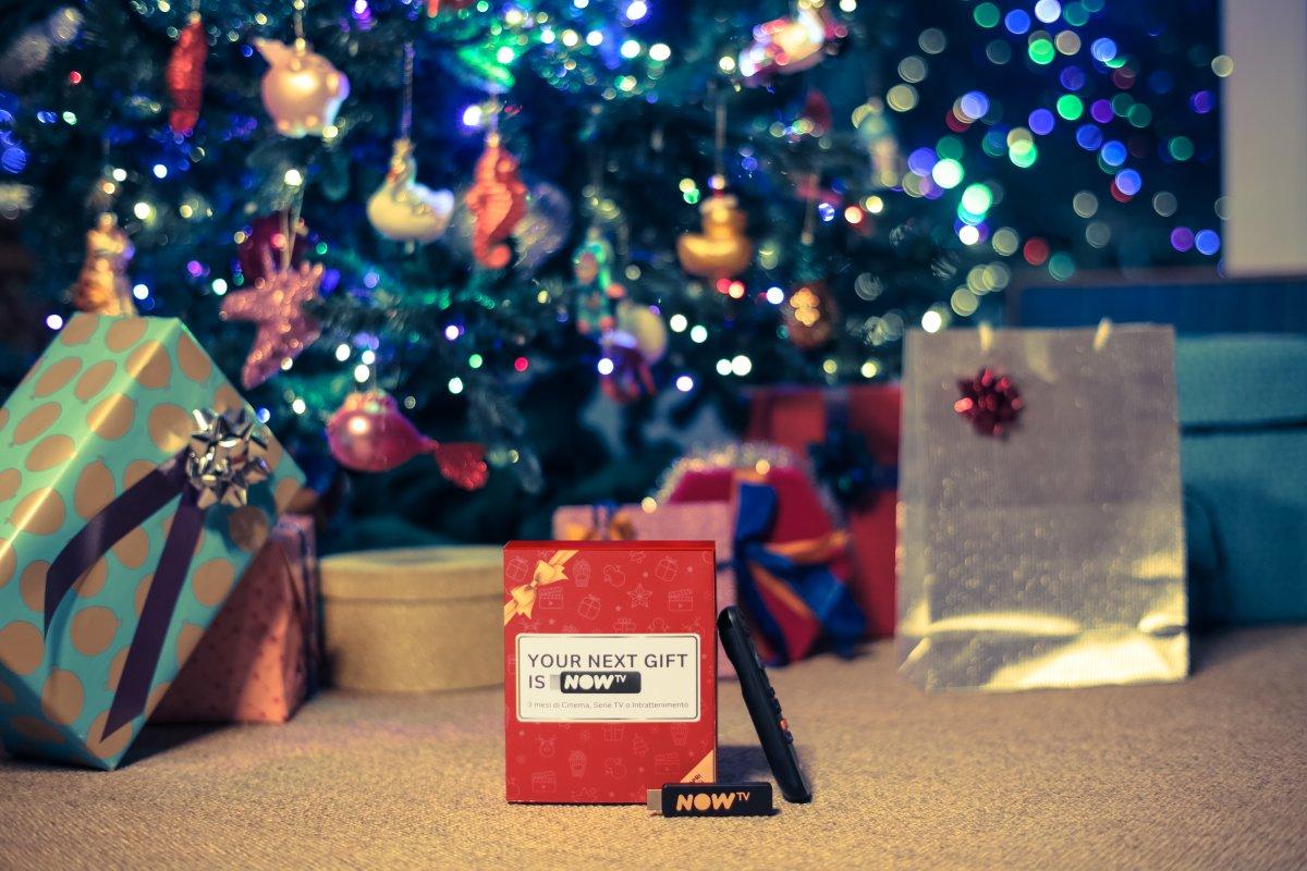 «Your next tv gift is NOW (TV)», la nuova campagna natalizia di NOW TV