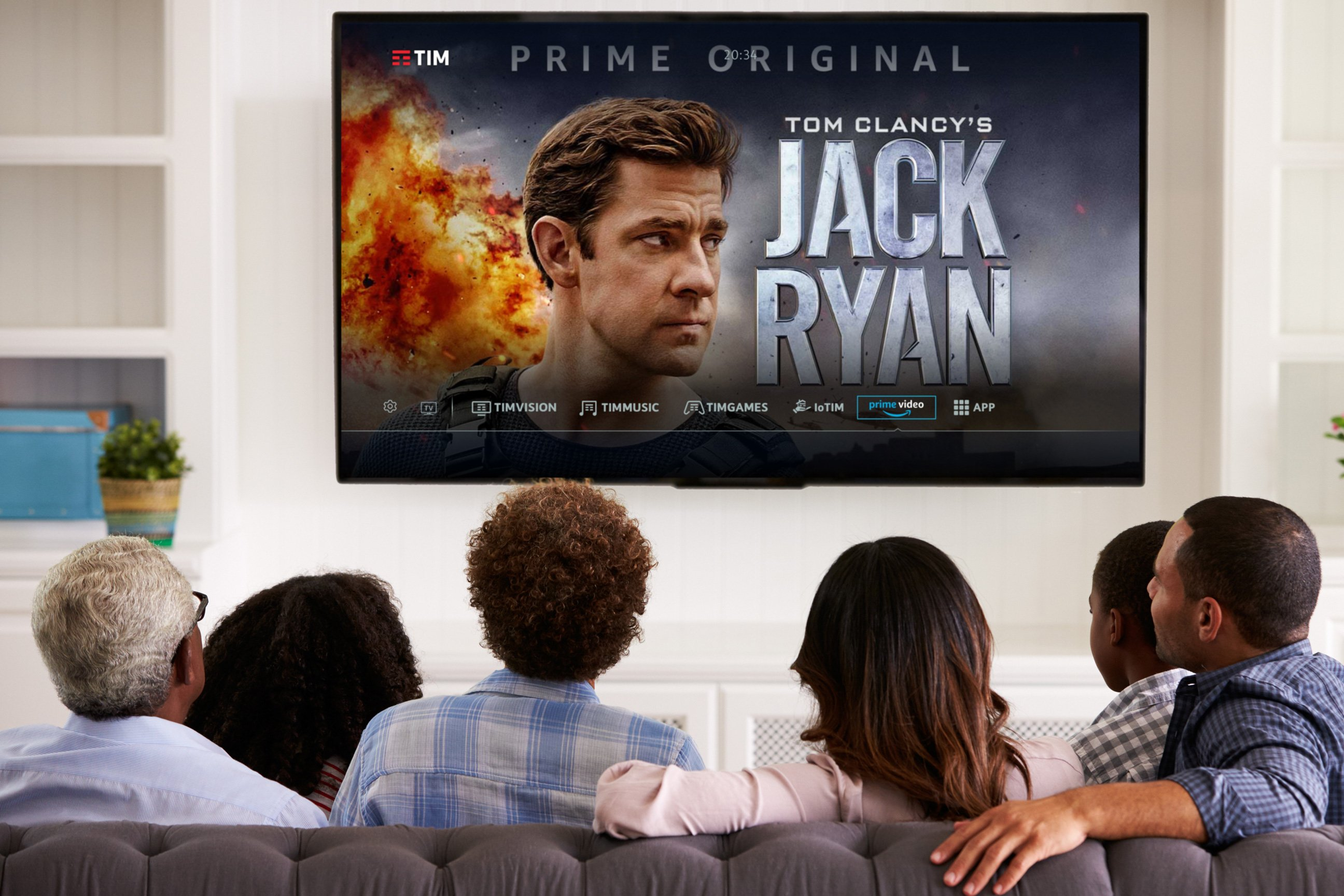 TIM e Amazon lanciano Prime Video sul decoder TIM Box di TIMVISION