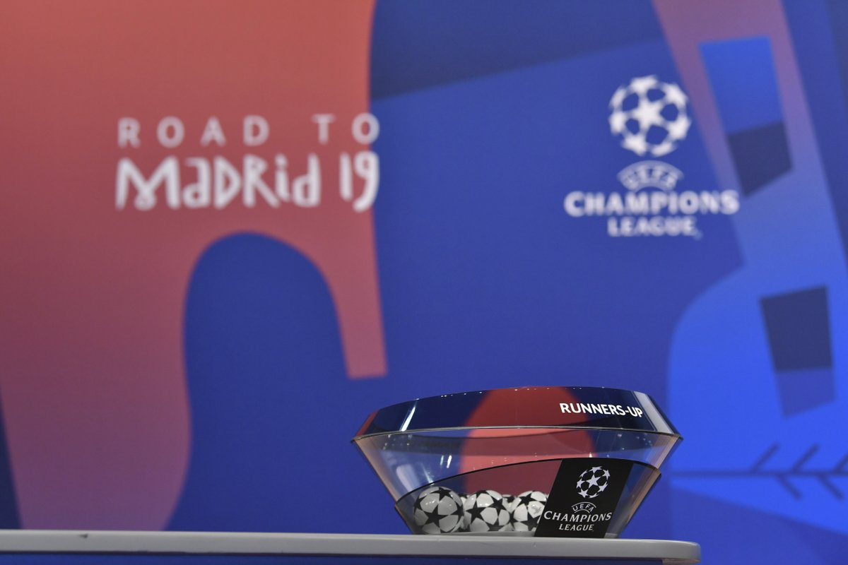 Sorteggio Ottavi Champions (Rai Sport, Sky e Eurosport) e 16esimi Europa League (Sky e Eurosport)