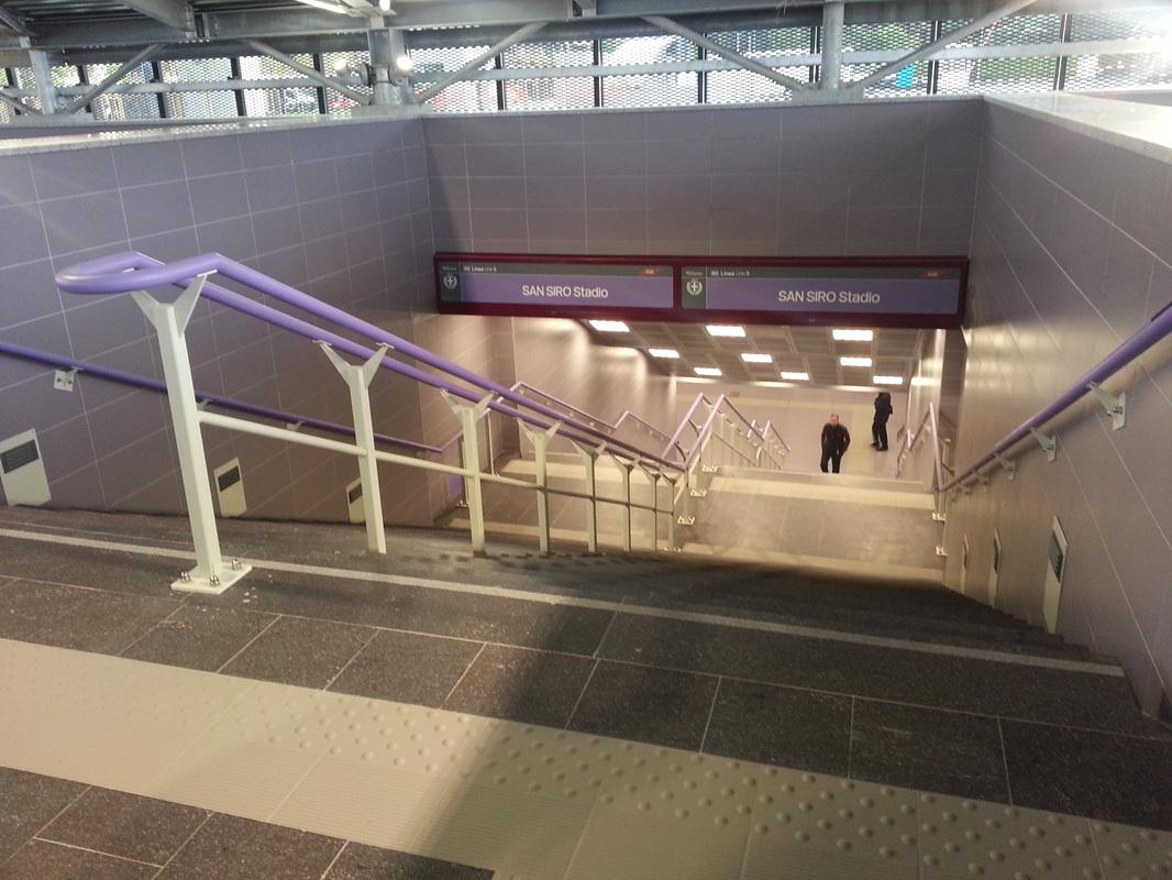 Milano M5 Stazione Metro San Siro Stadio, accordo triennale con DAZN