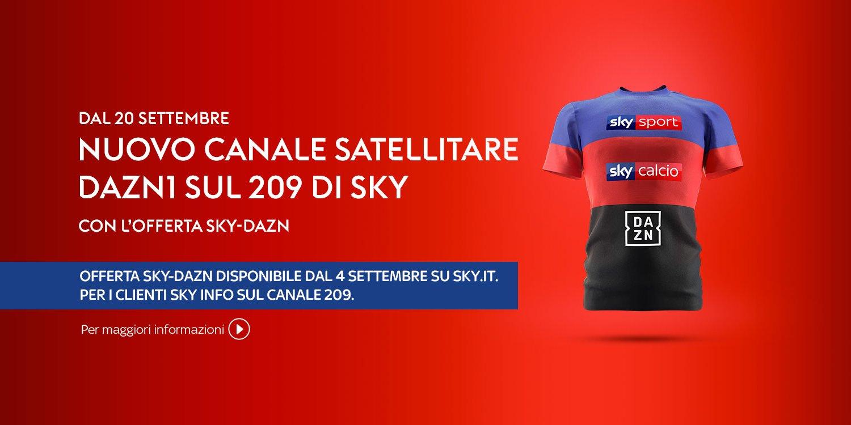 DAZN1 Sky 209 dal 20 Settembre, Tutorial - Come vedere il nuovo canale?