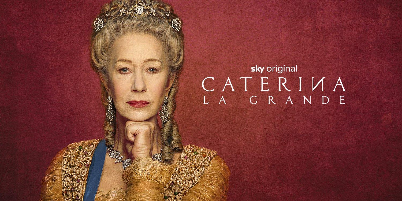 Caterina La Grande, da stasera la nuova serie Sky Original ed HBO