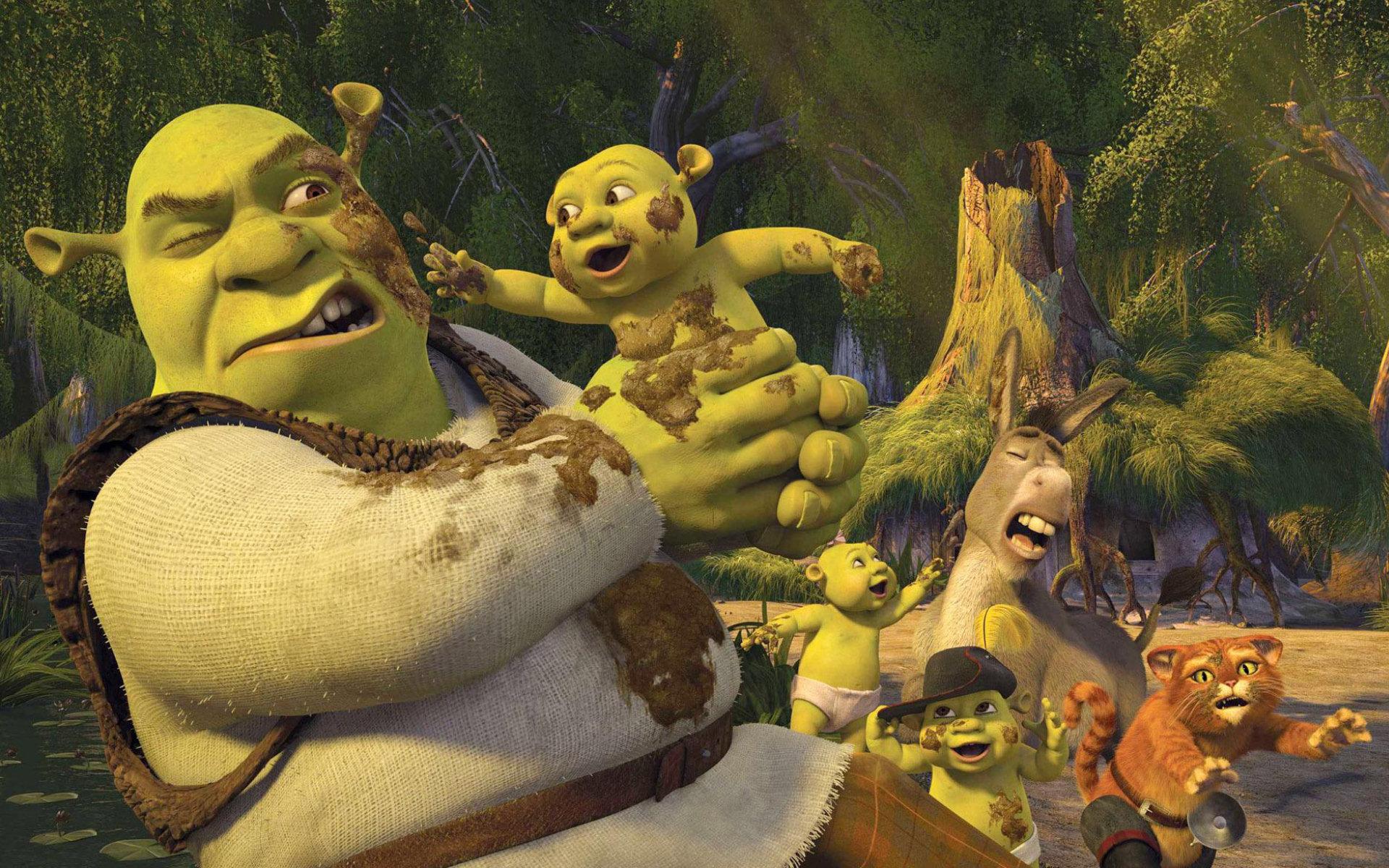 Sky Cinema Shrek HD con la saga dedicata al simpatico orco verde
