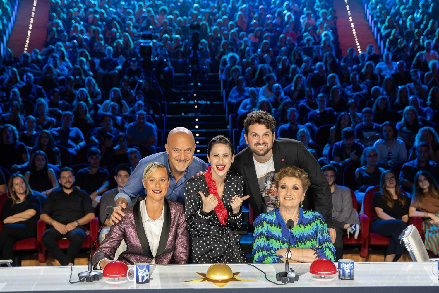 Italia's Got Talent su TV8 e Sky Uno con le new entry Pellegrini e Maionchi