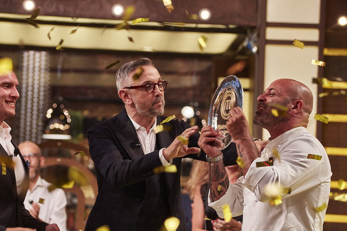 Michele Cannistraro vince MasterChef All Stars Sky Uno