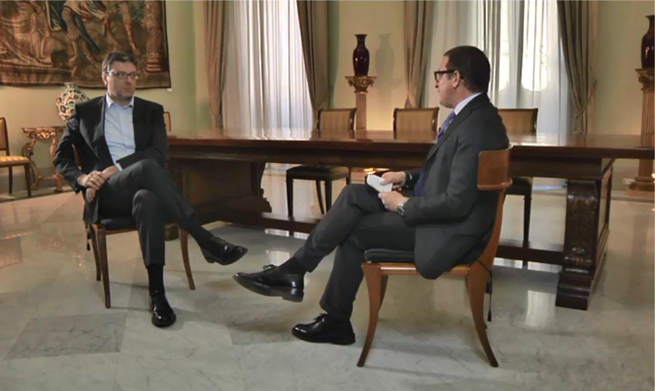 Giorgetti: «Senza le risorse Sky, la Serie A non potrebbe essere competitiva »