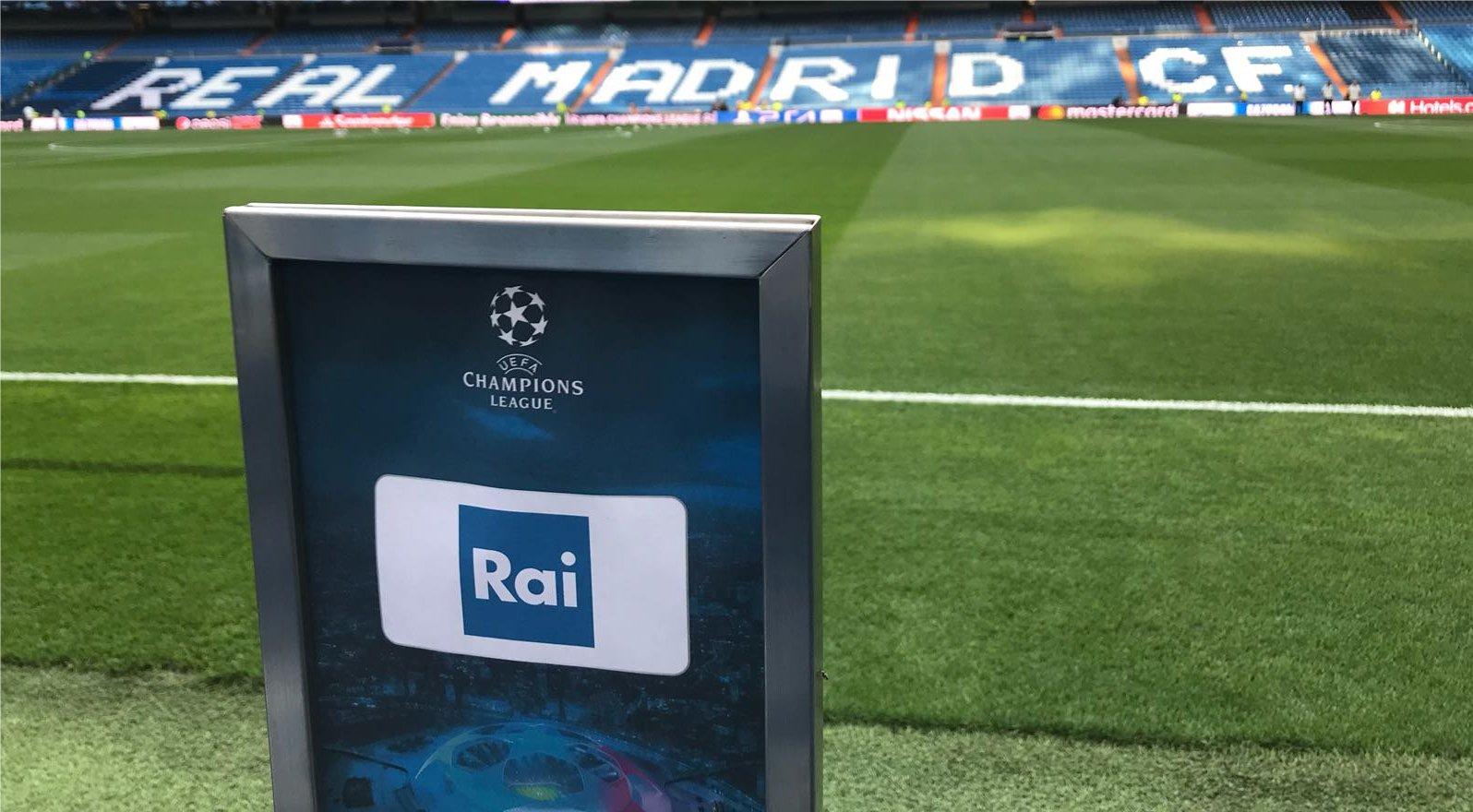 Champions League sulla Rai, nuovo accordo con Sky?