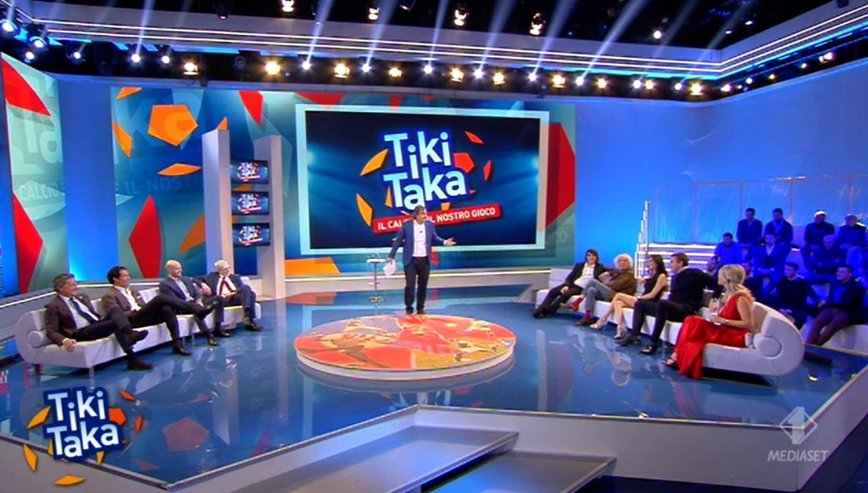Tiki Taka si unisce a Pressing e conquista la domenica su Canale 5