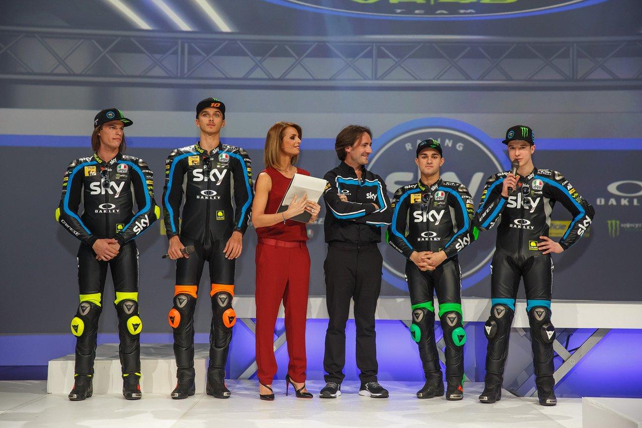 Tempo di nuove sfide nella stagione 2019 Sky Racing Team VR46