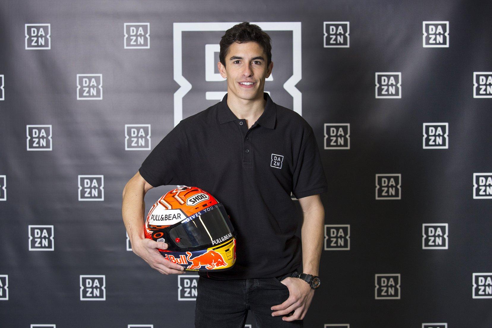 Marc Marquez ambasciatore di DAZN in Spagna