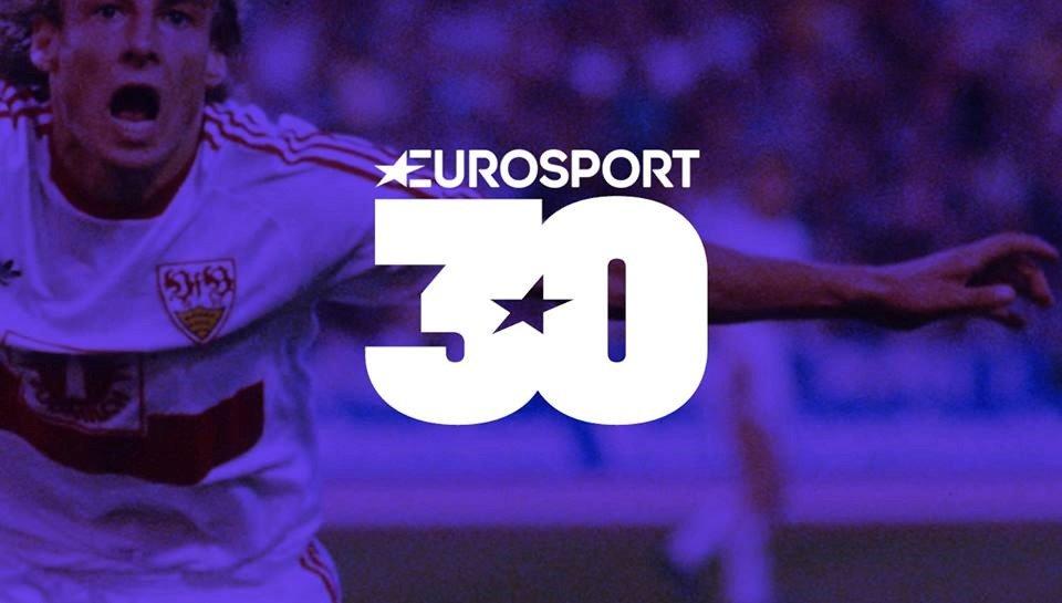 Eurosport festeggia oggi il suo 30esimo anniversario