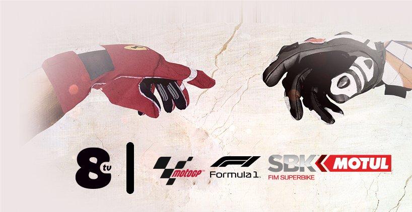 La stagione Motori 2019 su TV8 con Formula 1, MotoMondiale e SuperBike