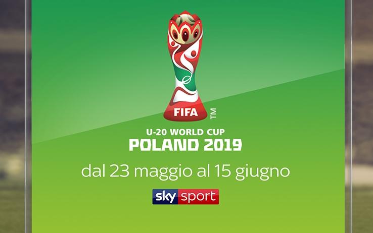 Calcio Under 20 World Cup in esclusiva su Sky, accordo con FIFA per altri tornei