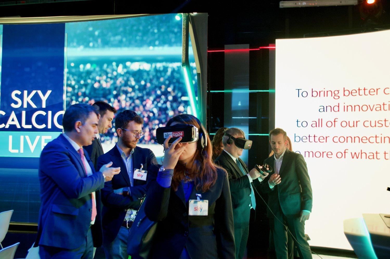 Intergruppo Innovazione Camera e Senato in visita a Sky Italia