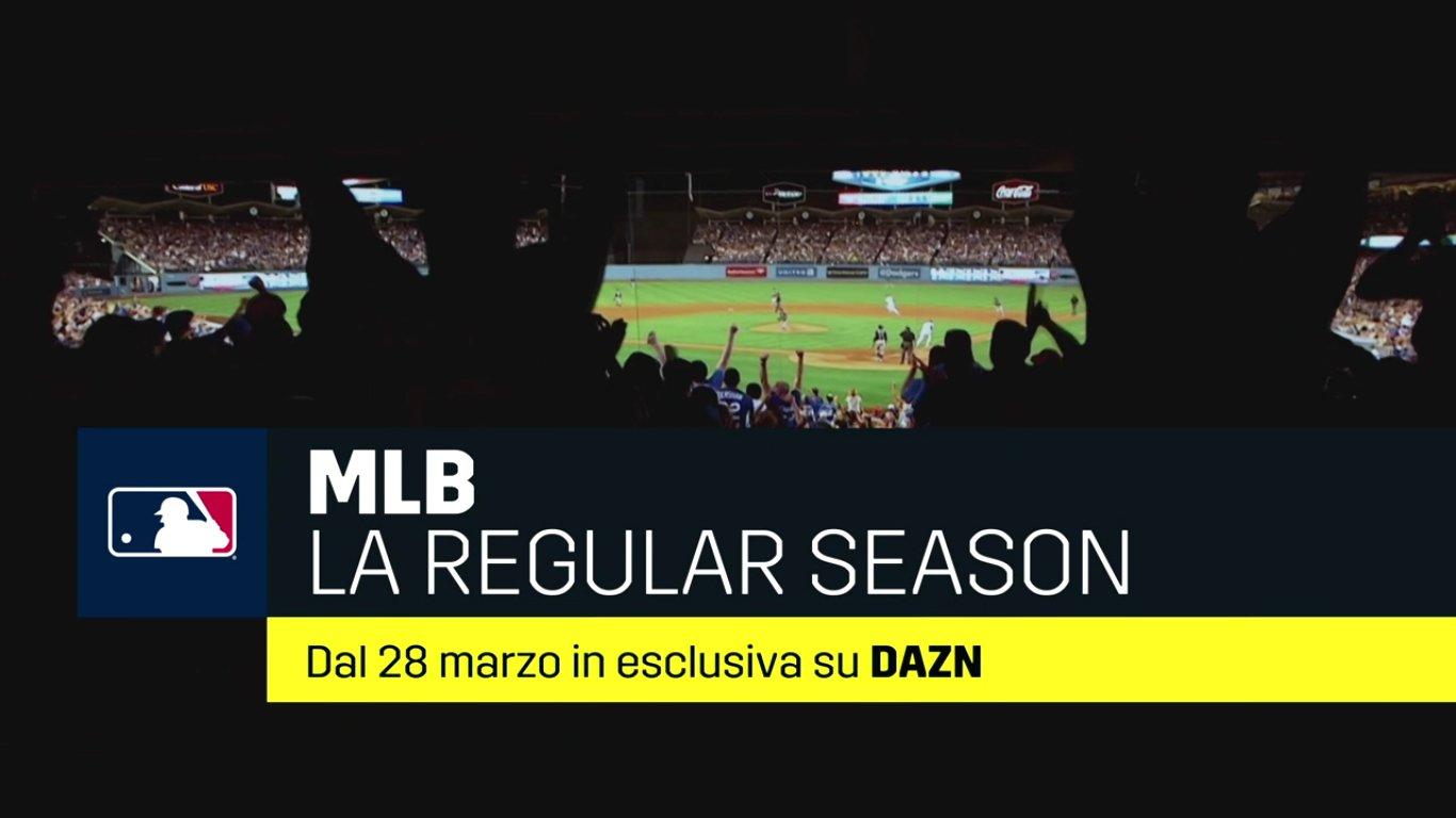 Scatta la stagione 2019 della MLB in esclusiva su DAZN