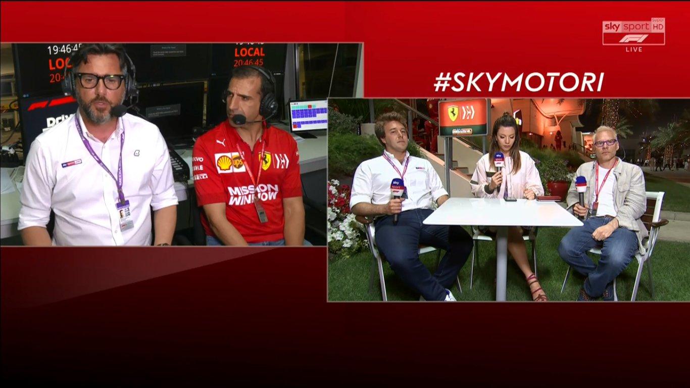 Ascolti top nella Super Domenica di Sky Sport. Record per GP F1 Bahrain