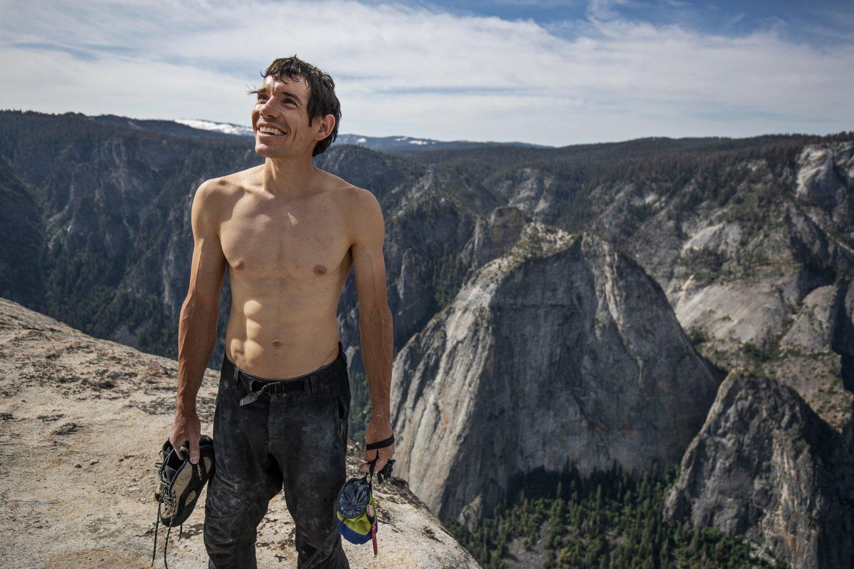 Free Solo, vincitore del premio Oscar in onda su National Geographic