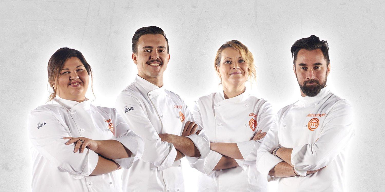 Alessandro, Gilberto, Gloria o Valeria. Chi vincerà Masterchef su Sky Uno?