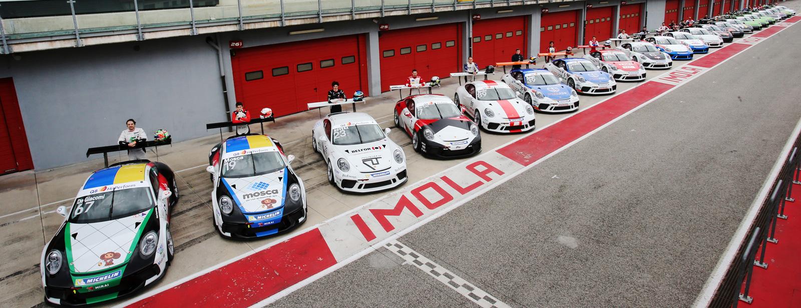 Su Sky Sport torna la Porsche Carrera Cup Italia (anche in chiaro su Cielo)
