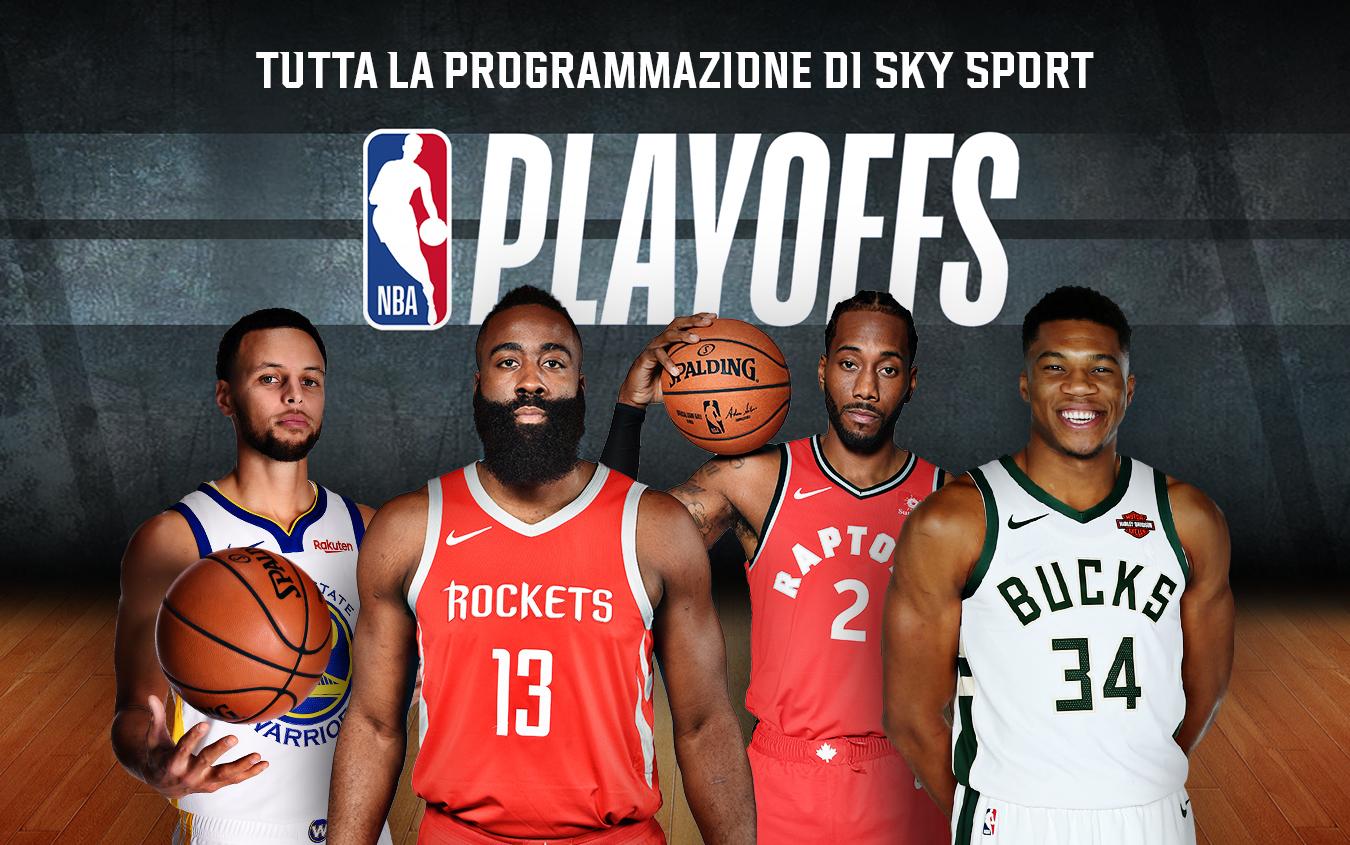 Scattano i playoff NBA, il grande basket americano di casa su Sky Sport
