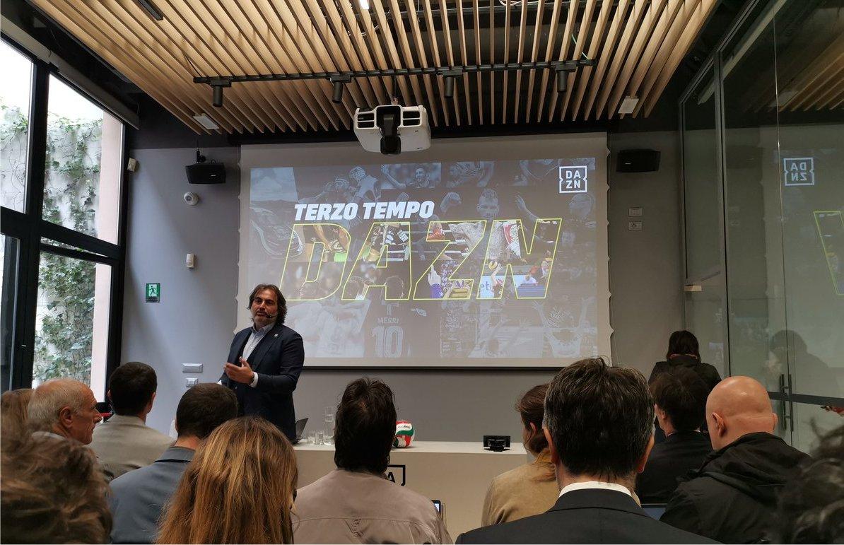 La prima stagione DAZN in Italia, oltre 81 milioni ore viste in streaming
