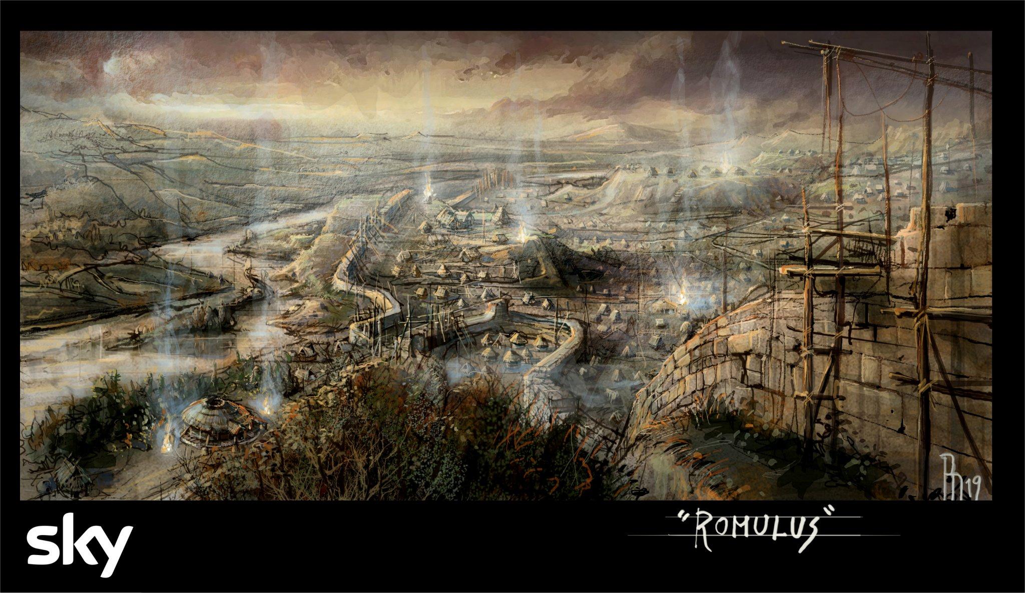 Romulus, via alle riprese della nuova serie Sky Original sulla nascita di Roma