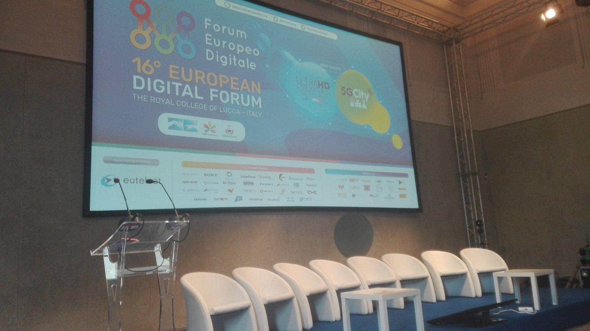 16 Forum Europeo Digitale Lucca in diretta su Digital-News.it