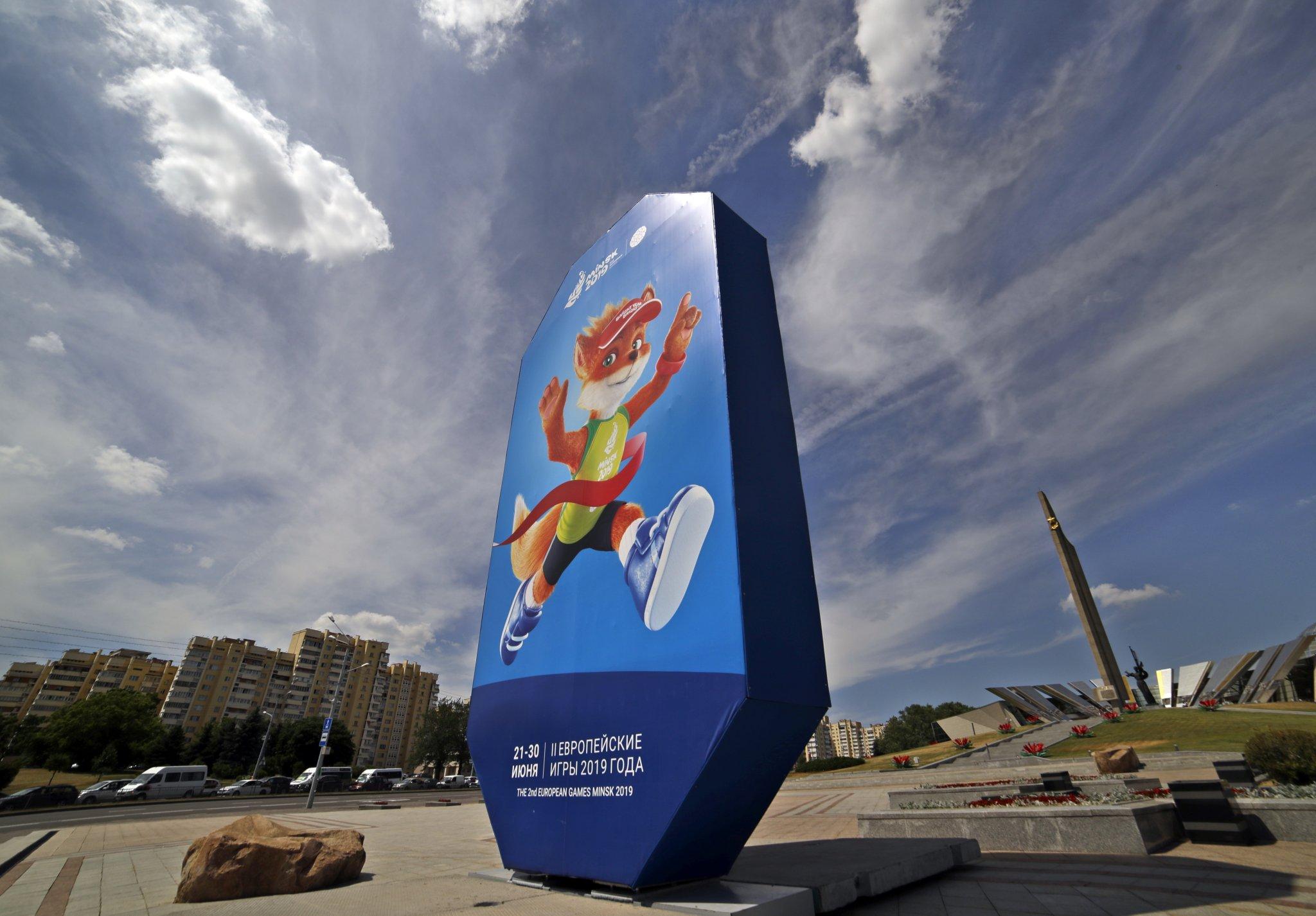 La seconda edizione degli European Games in esclusiva su Sky Sport Minsk