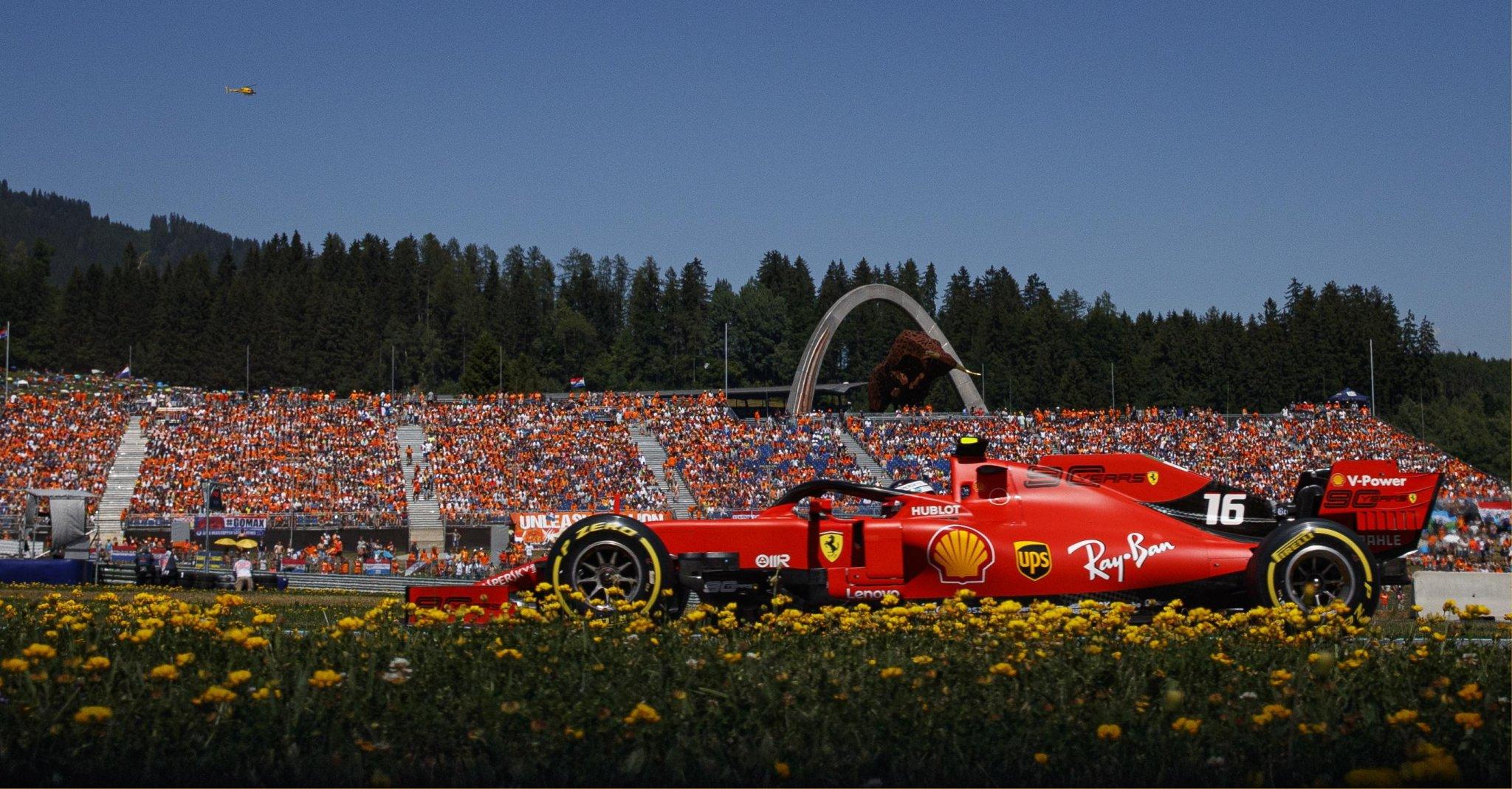 F1 Austria 2019, Gara - Diretta Esclusiva Sky Sport, differita Tv8