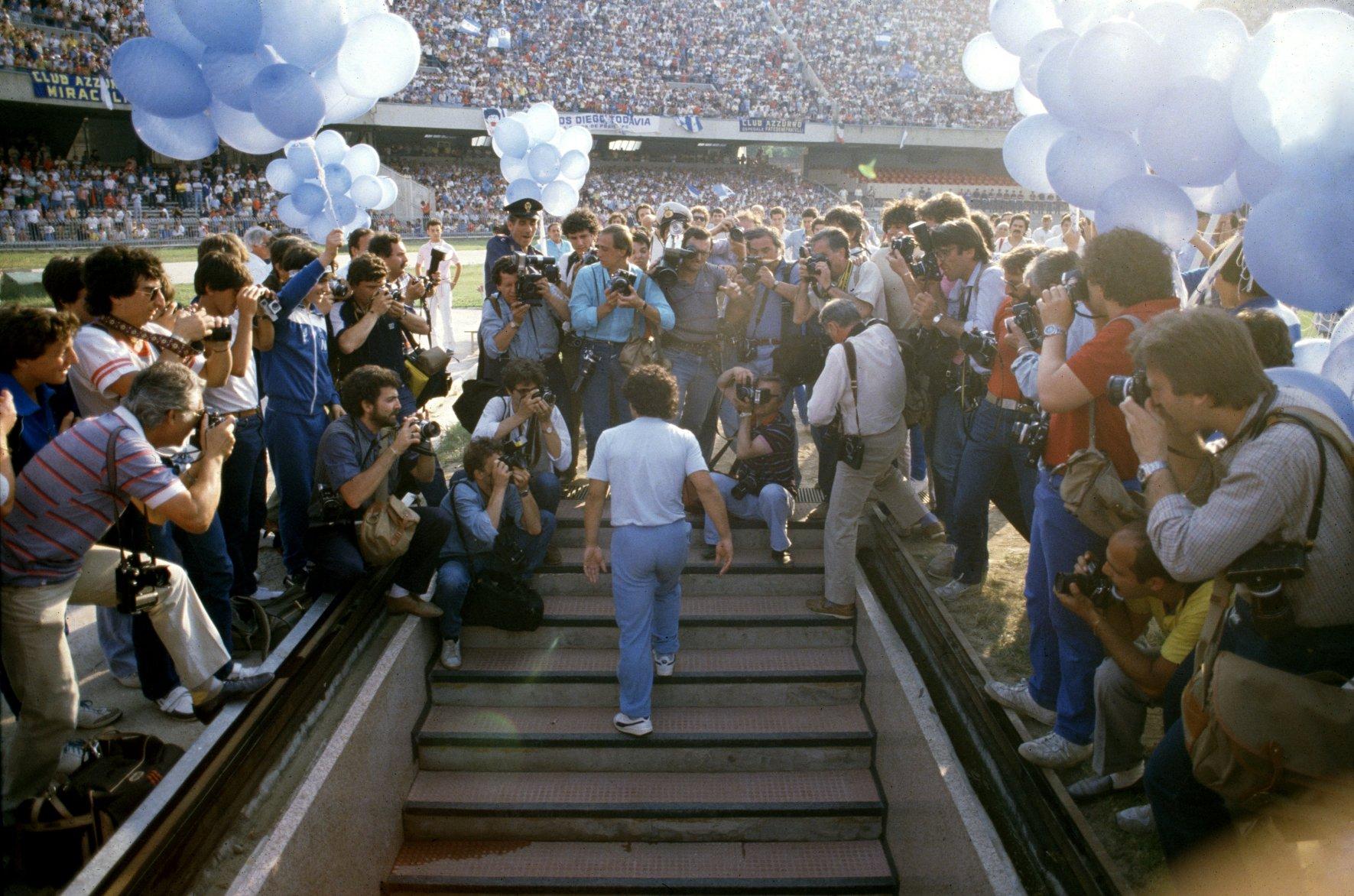 Storie di Matteo Marani su Sky Sport «1984, Ho visto Maradona»