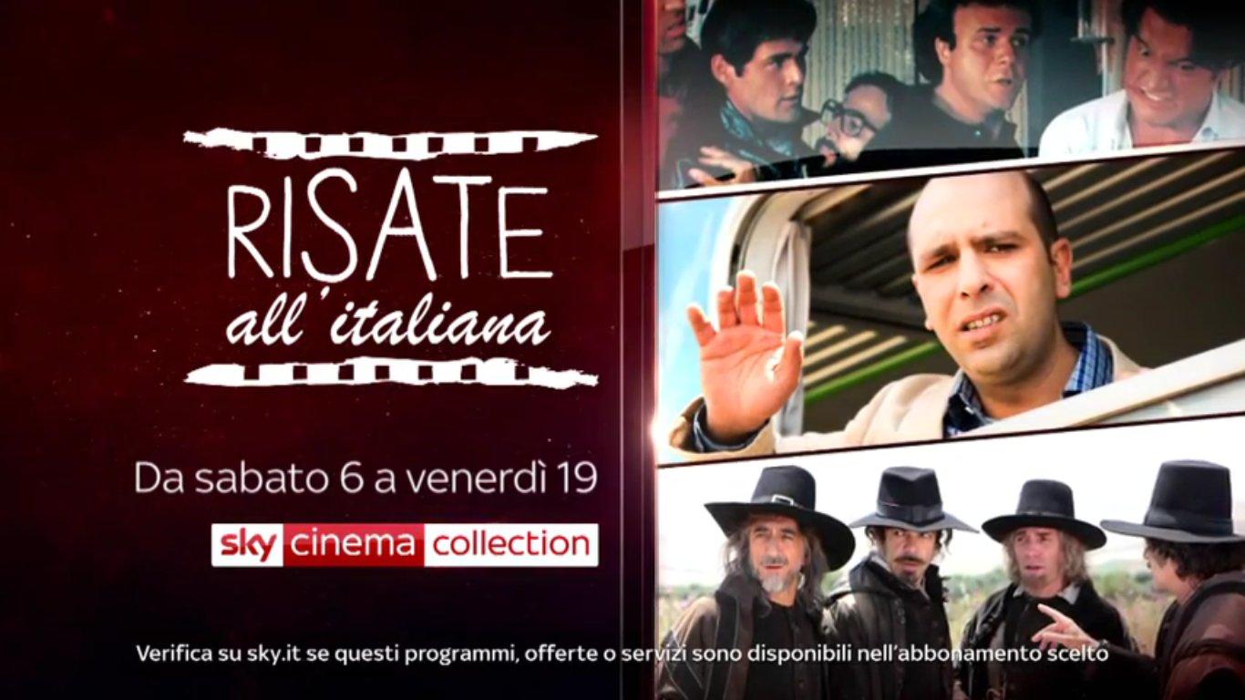 Sky Cinema Collection con le Risate all'Italiana. Lunedi omaggio a Carlo Vanzina