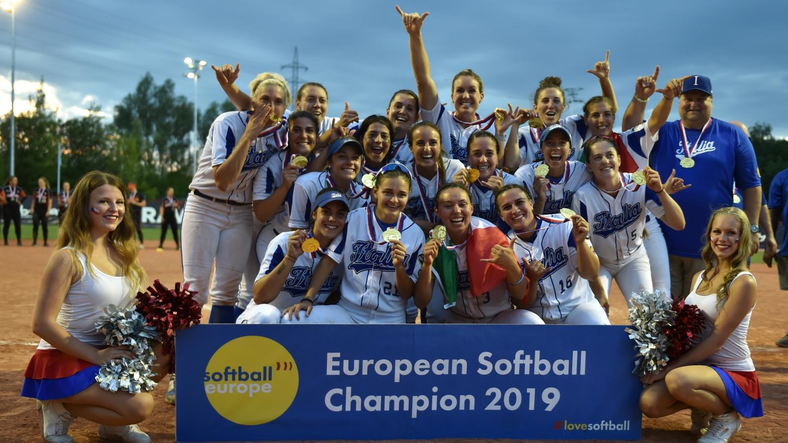 Sky Sport, la Nazionale italiana softball cerca qualificazione olimpica