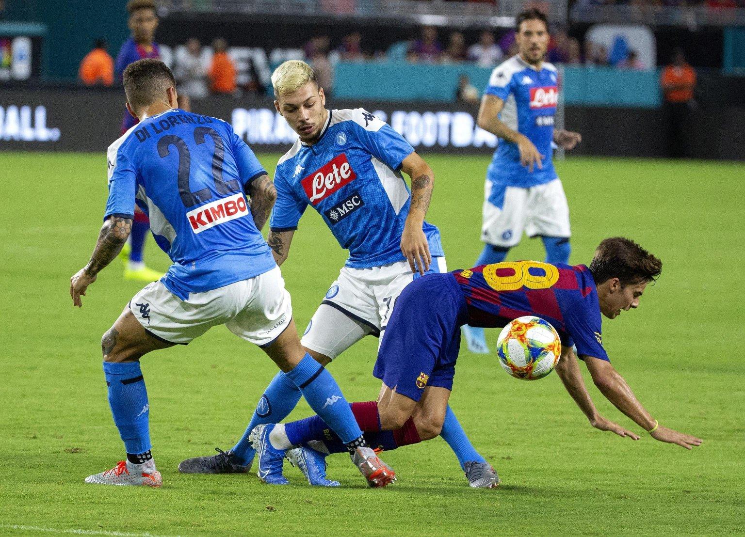 Amichevole, Napoli - Barcellona (diretta tv Sky Sport 251 solo in PPV)