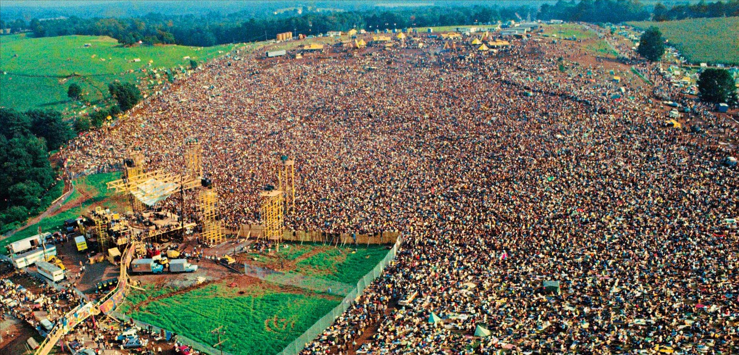 50 anni di Woodstock, Sky Arte celebra la storia del rock