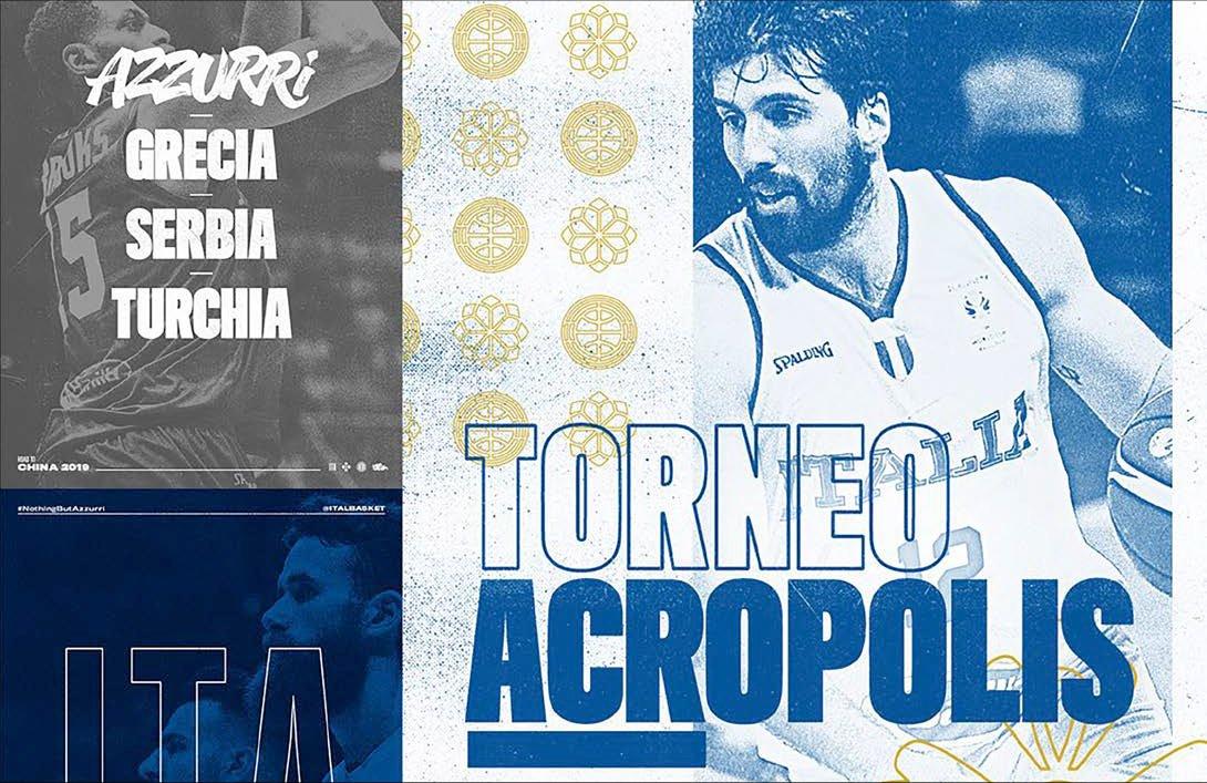 Basket, Torneo Acropolis ad Atene (16/18 agosto, diretta Sky Sport).